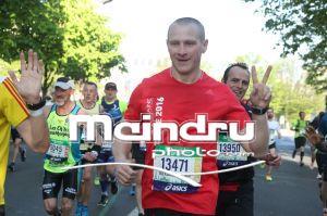 Александр Мозговой и Александр Жуков на Парижском марафоне